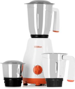 Billion Fine Mix MG124 550 W Mixer Grinder White