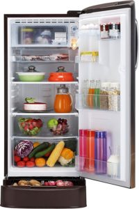 GL-D201AHPY Hazel Plumeria - Best 190 Litre 5 Star Rated LG Refrigerators in India