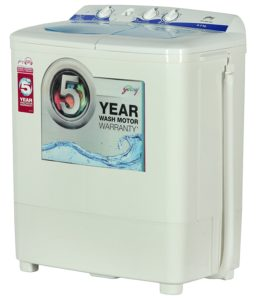 Godrej 6.2 kg Semi Automatic Top Load Washing Machine GWS 6203 PPD