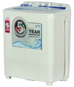Godrej 6.2 kg Semi Automatic Top Load Washing Machine GWS 6203 PPD