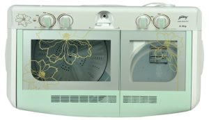godrej semi automatic washing machine 8.5 Kg GWS 8502 PPL