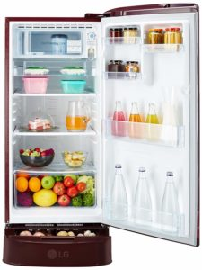 Best LG single door Refrigerator in India 15000