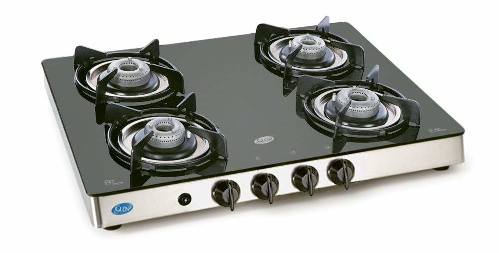 Glen Gl 1041 -best 4 burner gas stove in india with Auto Ignition