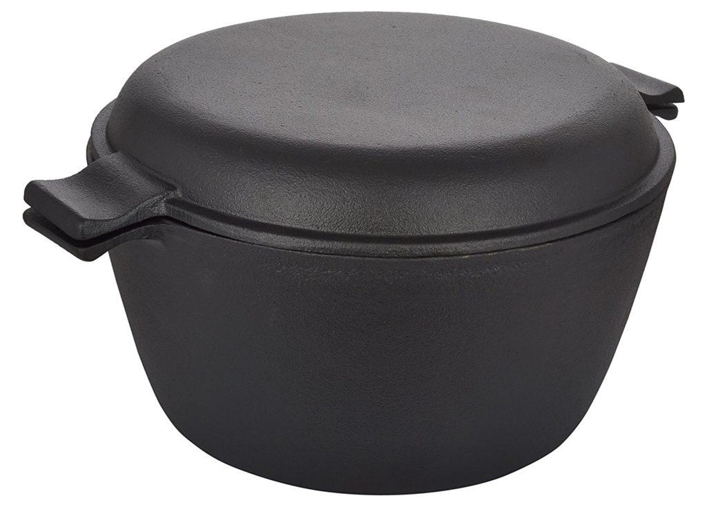 Crisol Cast Iron Pre-seasoned Dutch Oven