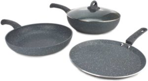Wonderchef Granite Cookware Set Price & Review