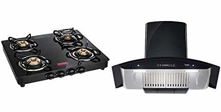 Prestige Marvel Gas Stove & Chimney Combo
