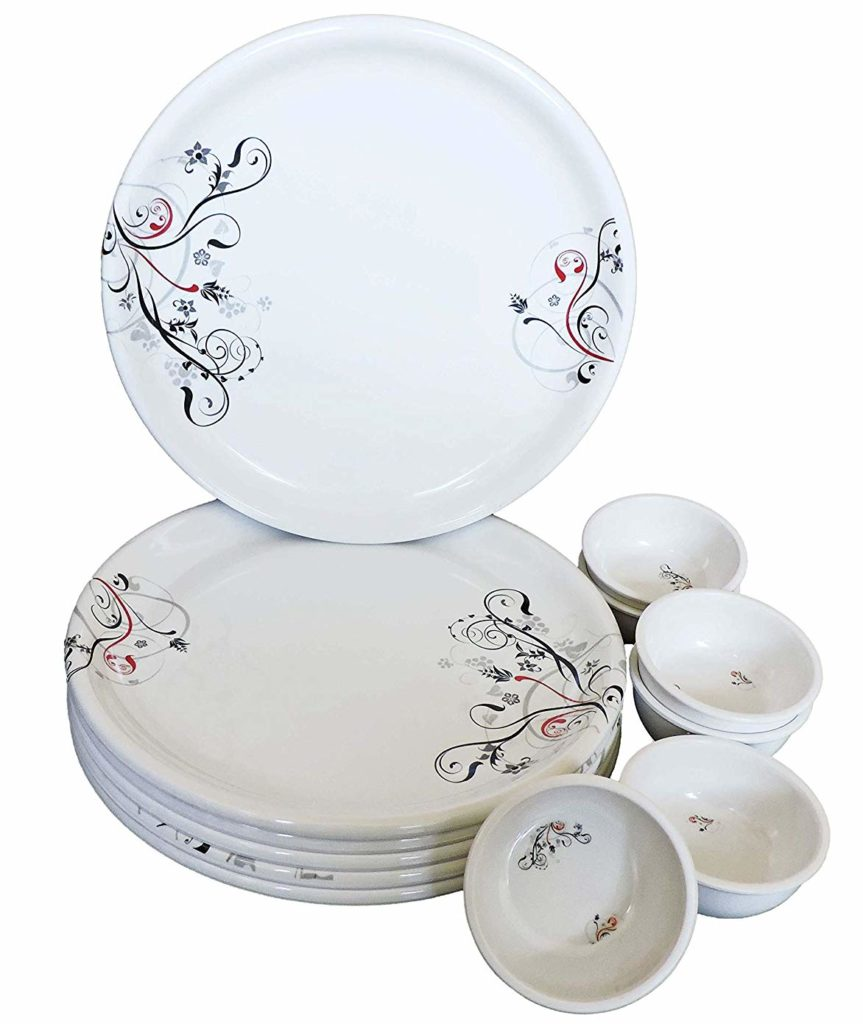 Cloudsell Melamine Dinner Set