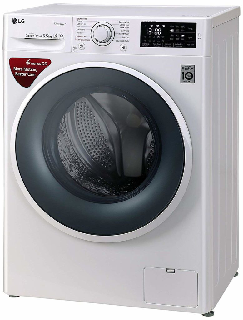 LG FHT1265SNW 6.5 KG DD Motor Washing Machine Price & REview