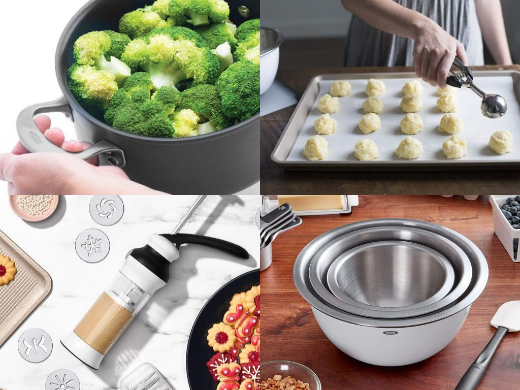 OXO Bakeware in India Review - Cookie Scoop, Mixing Bowls, Pastry Brush
