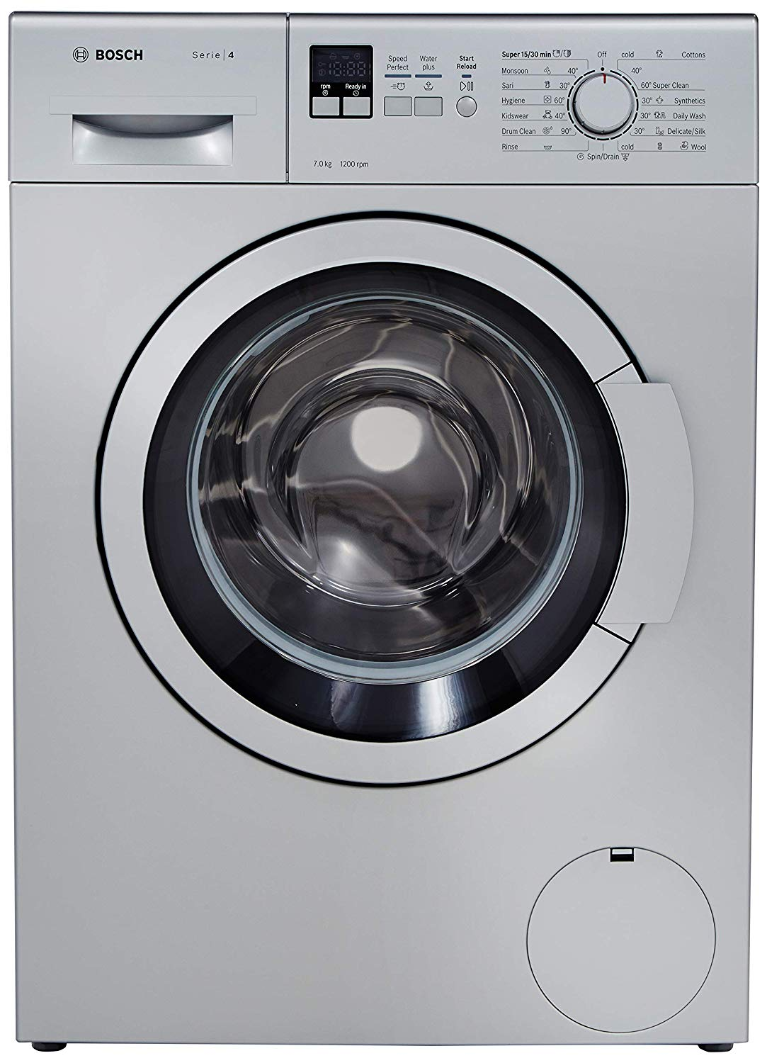 Bosch Front load washing machine compared with LG Front Loading Machines