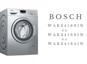 Bosch WAK24168IN vs WAK24164IN vs WAK24169IN Washing Machine Comparison