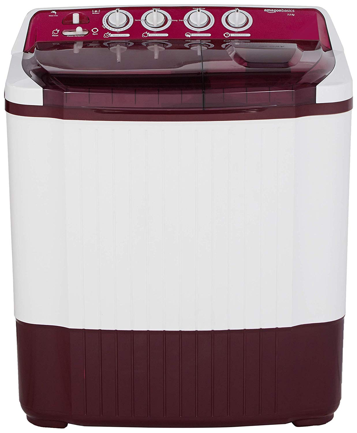 AmazonBasics Burgundy Washing Machine Review