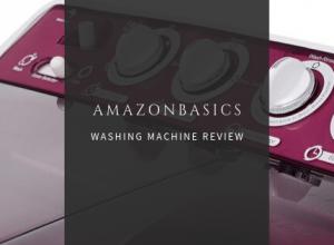 AmazonBasics Washing Machine Review India