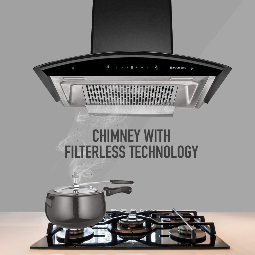 Best Faber 90 Cms Chimney in India - Filter-less
