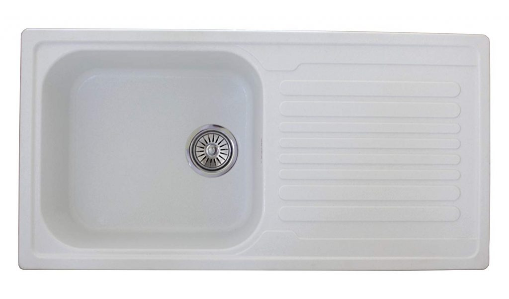 ZINZER Granite Quartz Kitchen Sink with Drainboard Review